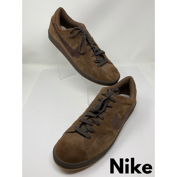 Nike Other - Nike Brown Suede Sneakers